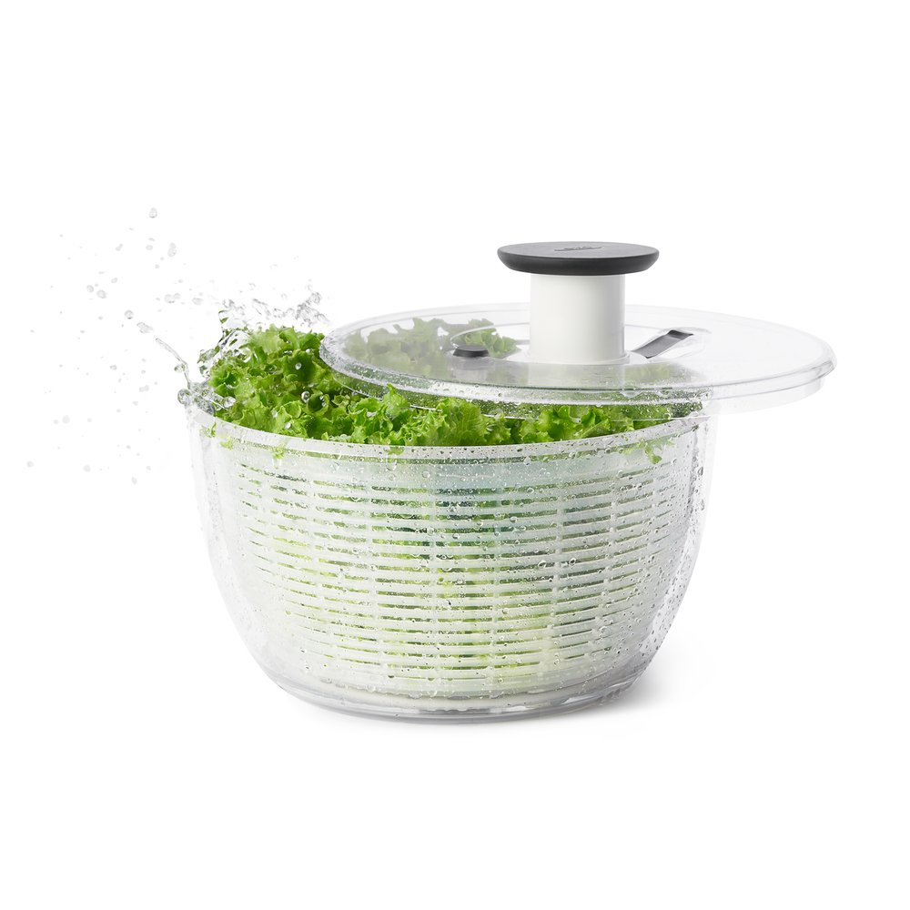 OXO Good Grips Good Grips Salad Spinner, 10.25-Inch Clear 32480