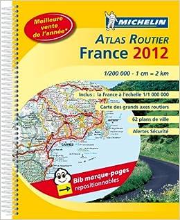 Atlas routier France : 1/200 000