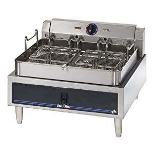 Star 530FF Star-Max 30 lb. Countertop Electric Fryer