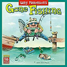 2019 Gary Patterson's Gone Fishing 16-Month Wall Calendar: by Sellers Publishing, 12x12 (CA-0391)