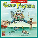 Gary Patterson s Gone Fishing 2019 Wall Calendar