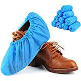 Shoe Covers Disposable Durable 100 Pairs(200 Pieces/Pack), Water Resistant,Non-Slip, Non-Toxic, 100% Virgin Fabric…
