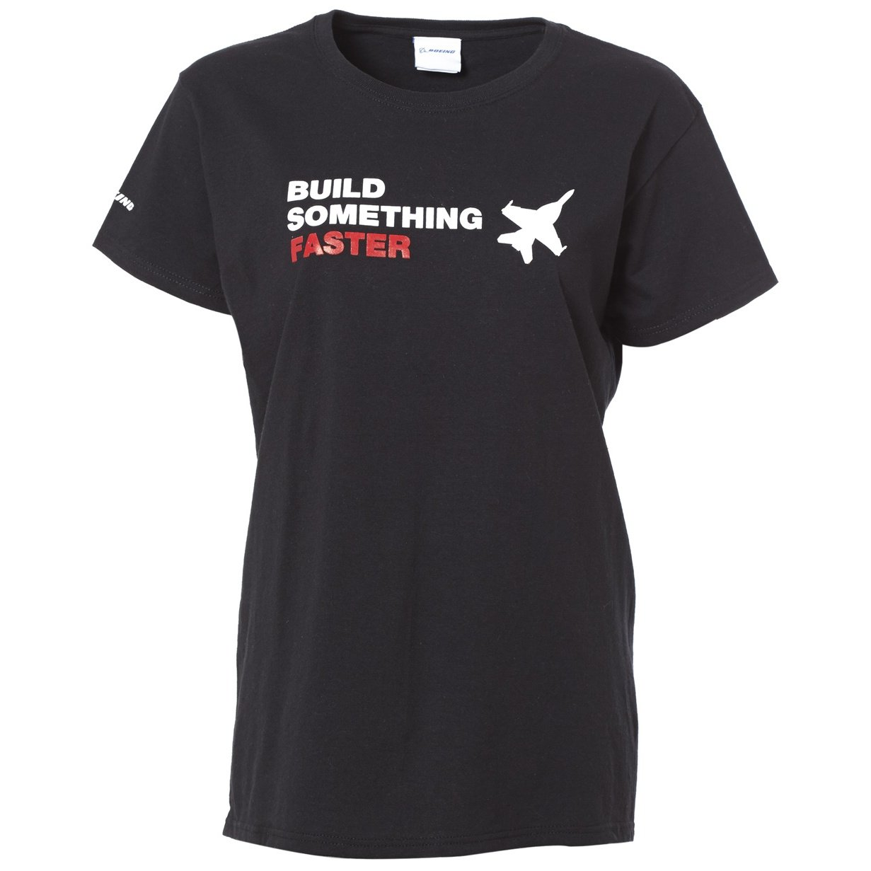 Boeing Collection Build Something Faster T-Shirt - Ladies