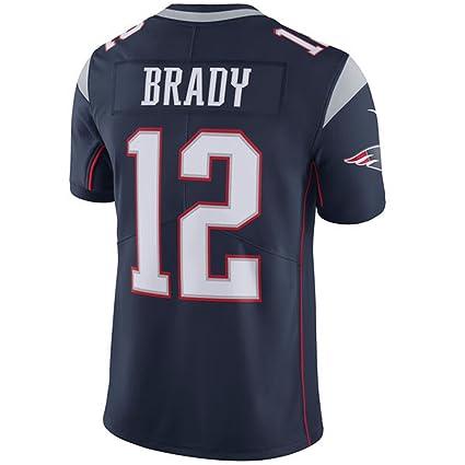 finest selection 1c2cb 3b57e NIKE Men's New England Patriots Tom Brady Navy Blue Home Jersey X-Large