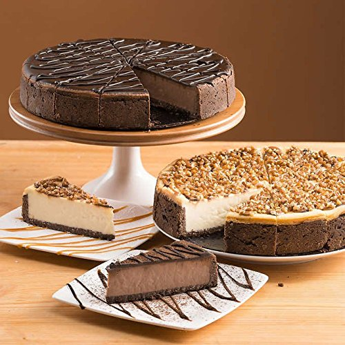 - David's Cookies Variety Cheesecakes, 2-pack
