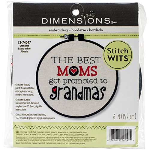 Dimensions Crafts 72 74047 Grandma Embroidery