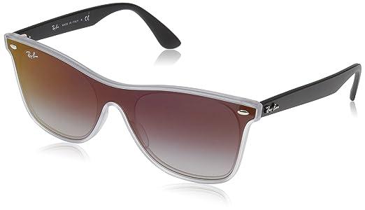 Óculos de Sol Ray Ban Blaze Wayfarer RB4440N 6355 U0-41  Amazon.com ... 02362697c9