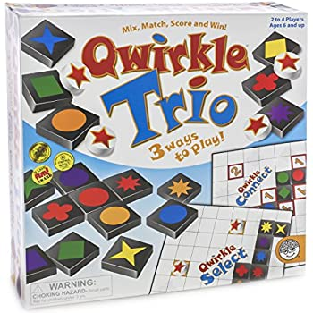 Qwirkle Trio Game