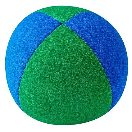 Henrys - Pelota de Malabares (67 mm), Color Azul y Verde: Amazon ...