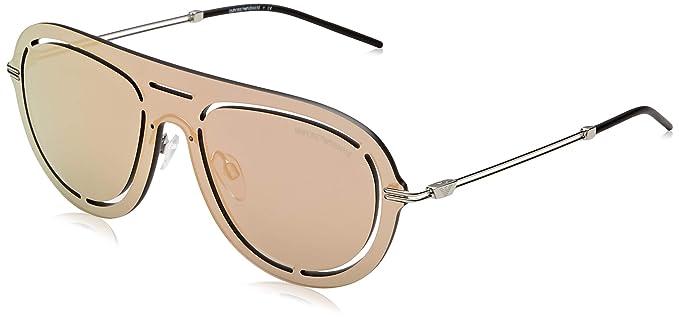 Emporio Armani 0ea2057 30154z 41 Gafas de sol, Grey Mirror ...