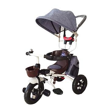 Triciclos niños Bicicleta 1-7 años Carro de Carro de bebé ...