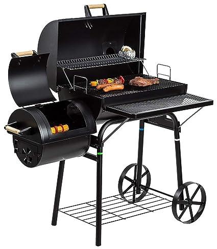L&Y Fumador Al Aire Libre para Barbacoa BBQ (Grande) para ...