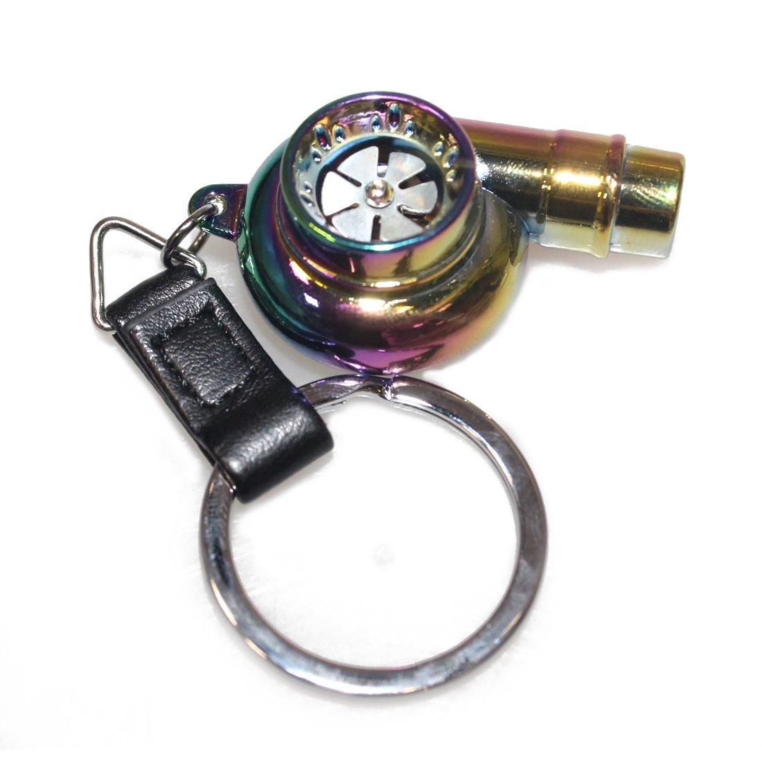 Portachiavi a forma di motore 3D in miniatura Copper