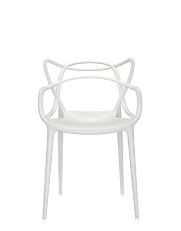 Kartell Masters Chair, Pack Of 2, White