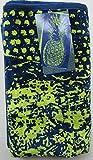 Kirkland Signature 100% Egyptian Cotton Beach Towel (Navy/Lime Pineapple)