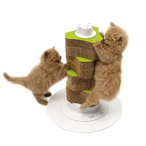 Rascador de gatos para gatos y gatos pequeños, paquete de ...