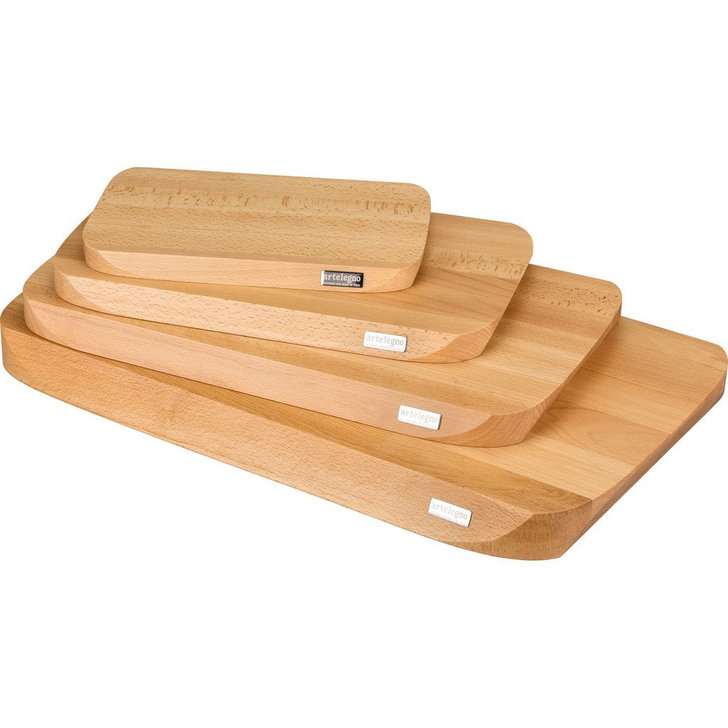 Artelegno Solid Beech Wood Extra Large Cutting Board, Luxurious Italian Siena Collection by Master Craftsmen, Ecofriendly, Natural Finish by Arte Legno (Image #5)