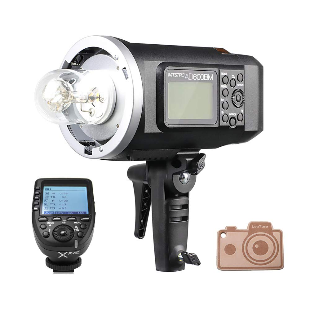 Godox AD600BM Bowens Mount 600Ws GN87 High Speed Sync Outdoor Flash Strobe Light with Xpro-C Transmitter Trigger for Canon Cameras by Godox (Image #1)