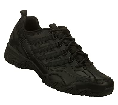 SKECHERS Work Women's Chant Black Athletic Shoe