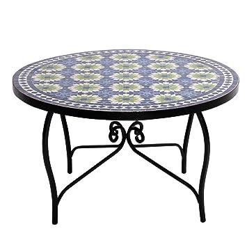 albena Marokko Galerie Marrakesch Bidhan Table mosaïque Ø 80 cm ...