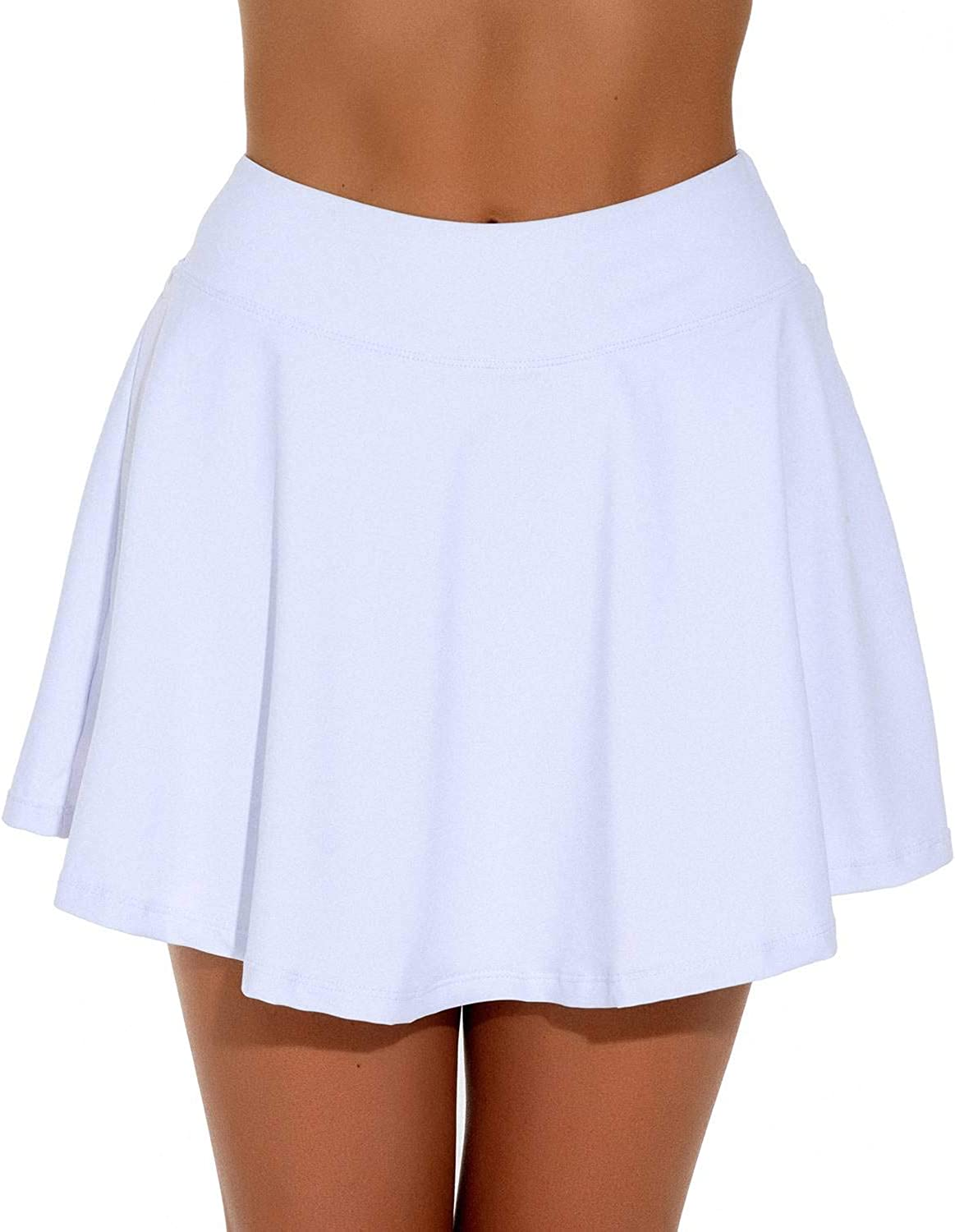 STYLEZONE Women's Skorts Pleated Cute Skirts Sports Shorts with Pocket for Running Tennis Golf Workout: Clothing