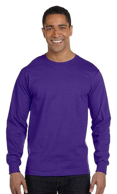 faafe3022838 Amazon.com: Hanes Men's Beefy-T Long-Sleeve T-Shirt: Everything Else