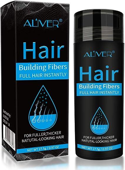Hair Building Fibers Corrector de Pérdida de Capilares Fibra de Calidad Profesional Spray de Polvo para Adelgazar Cabello para Mujeres y Hombres Los Mejores Productos para Espesar (Marrón claro): Amazon.es: Belleza