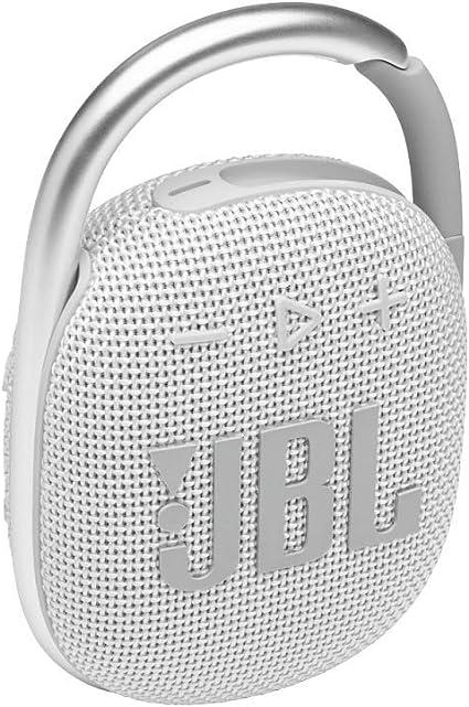 Jbl Clip 4 Bluetooth Lautsprecher In Weiß Elektronik