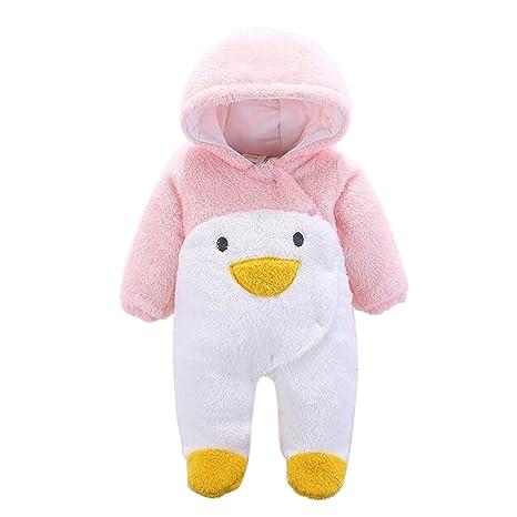Mono unisex de bebé, para otoño/invierno, grueso, cálido, de ...