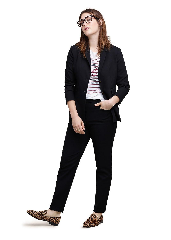 VIOLETA (Plus Size) - Strukturierter Jacken Blazer baumwoll-blazer