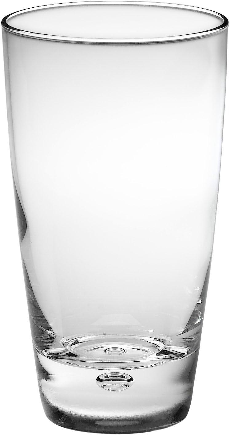 Bormioli Rocco Luna Tumbler Beverage Glasses, Set of 12