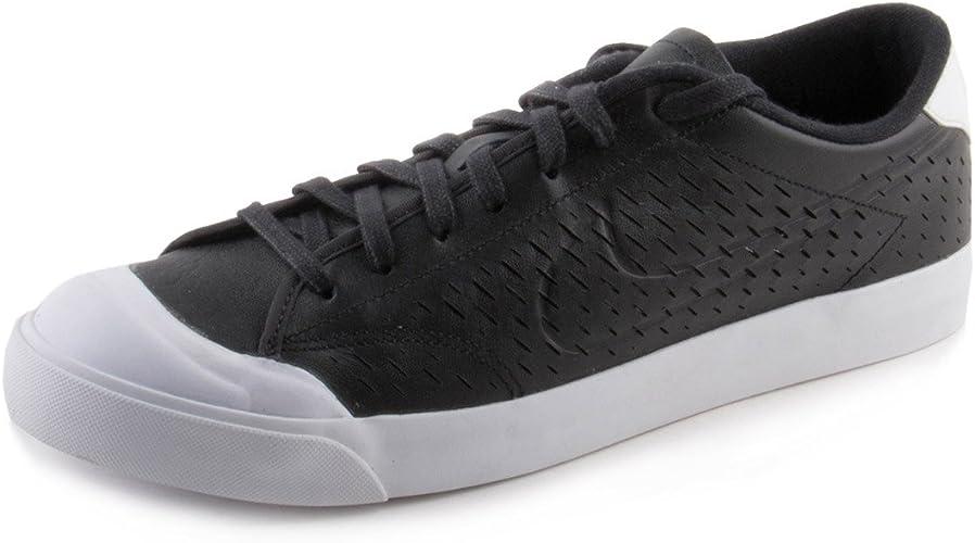 hambruna tofu Enumerar  Nike Mens All Court 2 Low Leather Black/White 724271-002 Nike Athletic  Shoes for Men Men's Athletic Shoes