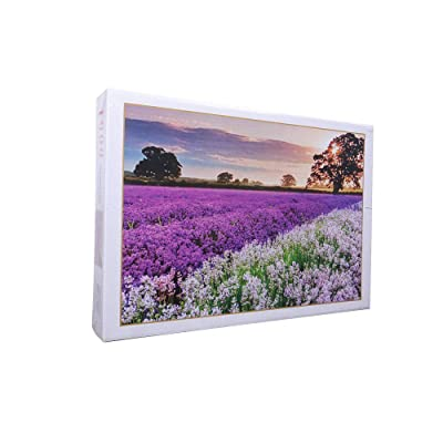 1000 Puzzle for Adult and Teens, Large Jigsaw Puzzle Lavender Fields: Toys & Games [5Bkhe0306428]