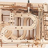 ROBOTIME 3D Wooden Laser-Cut Puzzle DIY Assembly