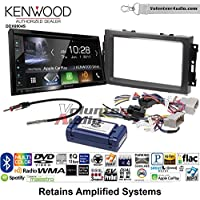 Volunteer Audio Kenwood Excelon DDX6904S Double Din Radio Install Kit with Satellite Bluetooth & HD Radio Fits 2007-2008 Ram, 2006-2007 Chrysler 300