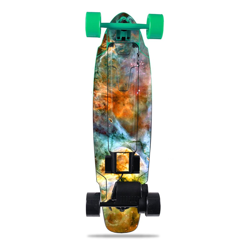 MightySkins Skin For Yuneec E-GO2 Electric Skateboard - Space Cloud | Protective, Durable, and Unique Vinyl Decal wrap cover | Easy To Apply, Remove, and Change Styles | Made in the USA