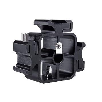 Mikrofonstativ Triple Heißer Schuh Halterungen Adapter Flash Licht Ständer Mikrofon Halter Halterung Heimelektronik Zubehör