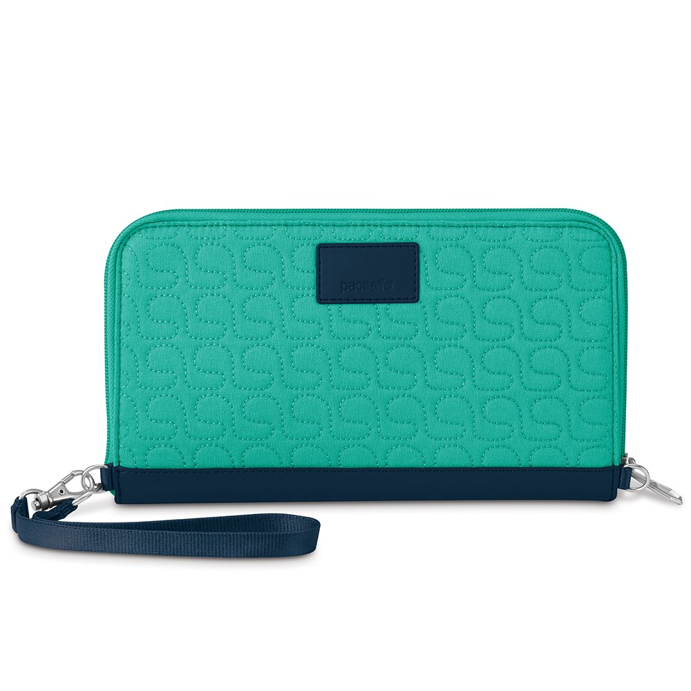 Pacsafe Rfidsafe W250 Anti-Theft RFID Blocking Travel Organizer, Lagoon