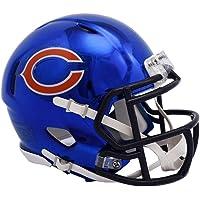 $59 Get Chicago Bears - Chrome Alternate Speed Riddell Mini Football Helmet - New in Riddell Box