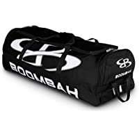 "Boombah Brute Rolling Baseball/Softball Bat Bag - 35"" x 15"" x 12-1/2"" - Holds 4 Bats and Room for Gear - Wheeled Bag"