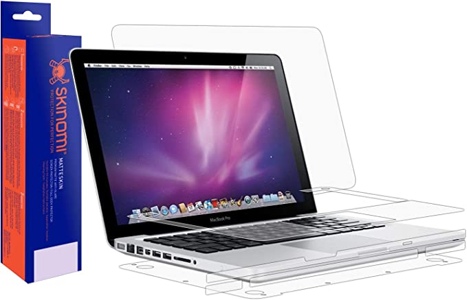"Laptop Skin Protector for MacBook Pro 13/"" 2009-2012 A1278 MATTE Skinomi"