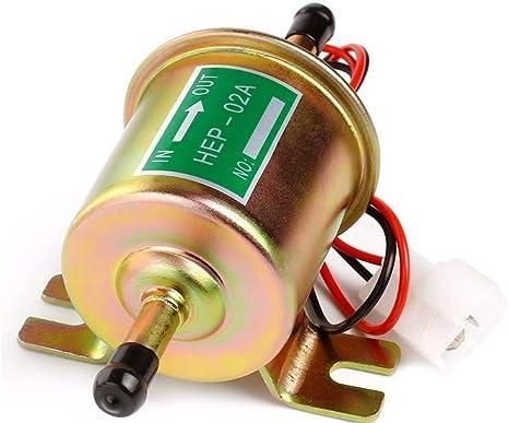 Amazon.com: YONEDA Bomba de combustible eléctrica universal ...