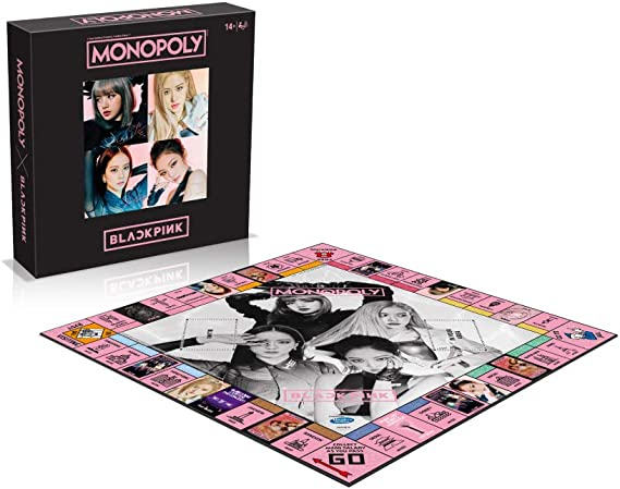 YG Entertainment Idol Goods Fan Products YG Select Blackpink in Your Area Monopoly: Amazon.es: Hogar