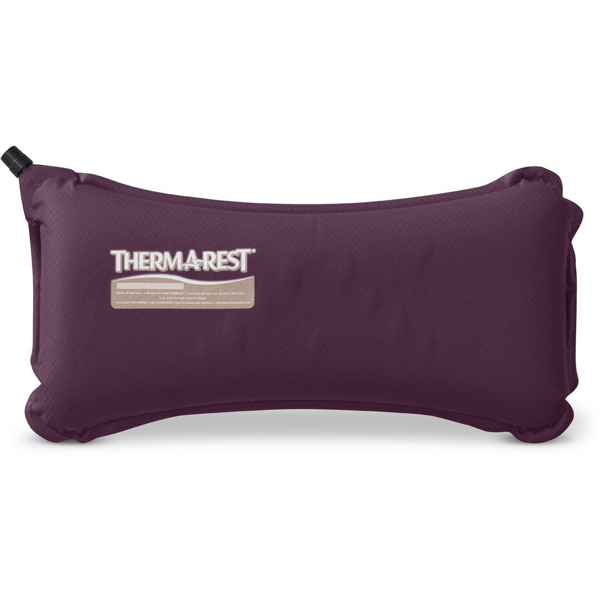 Therm-a-Rest Lumbar Travel Pillow Eggplant 6437