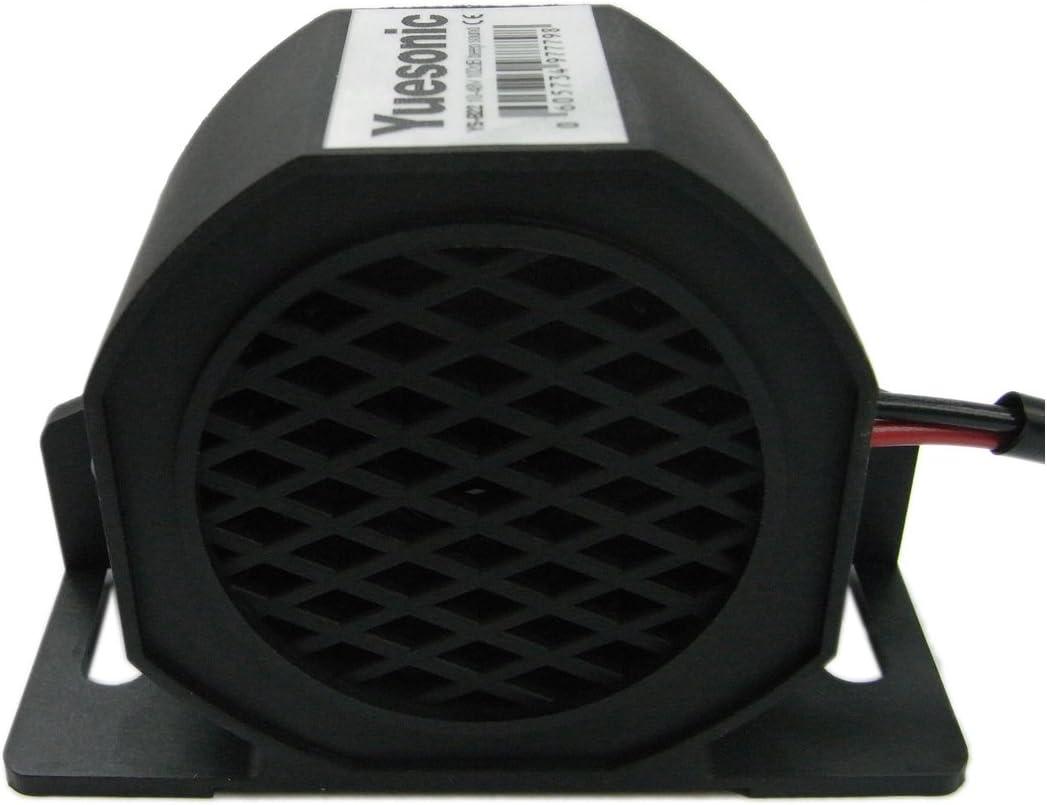 Yuesonic 10-48V 102dB alarmas de aviso para conducción marcha atrás