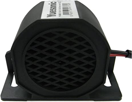 Yuesonic 102db Beep Sound Backup Alarm Rückfahrwarner Für 10 48 V Fahrzeuge Auto