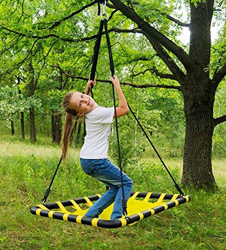 SUMMERSDREAM Tree Swing, Columpio de rectángulo 40 x 30 pulgadas ...