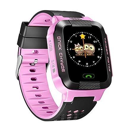 Anti-Lost reloj inteligente pulsera GPS Tracker SOS Call Location Finder para niños niños compatibles