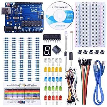 Amazon.com: UNIROI UNO Kit de iniciación para Arduino con ...