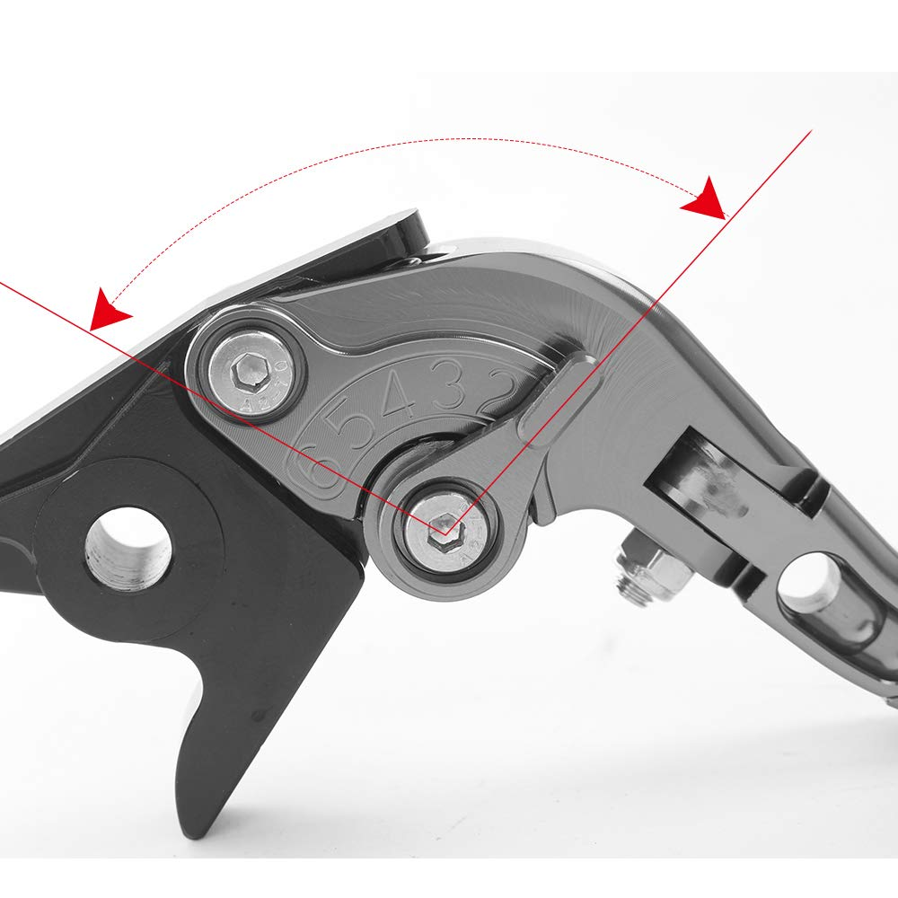 Toure 2011-2016 Kit Levier dembrayage et levier de frein pour Kawasaki Z1000SX NINJA 1000